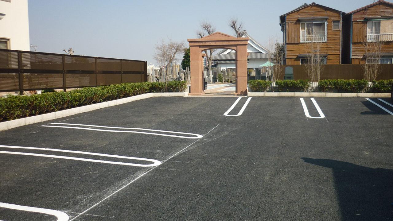 山手の杜 駐車場